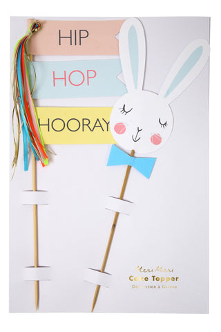 Bunny Tassle Cake Toppers