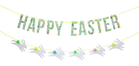 Easter Green Liberty Garland