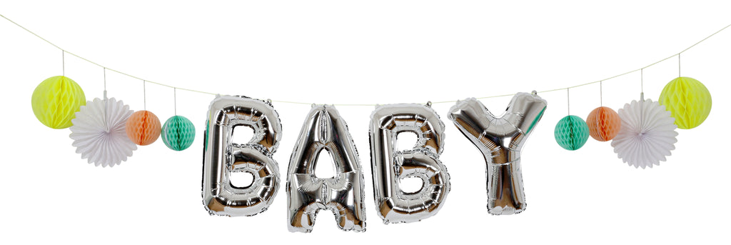 Baby Balloon Kit Garland