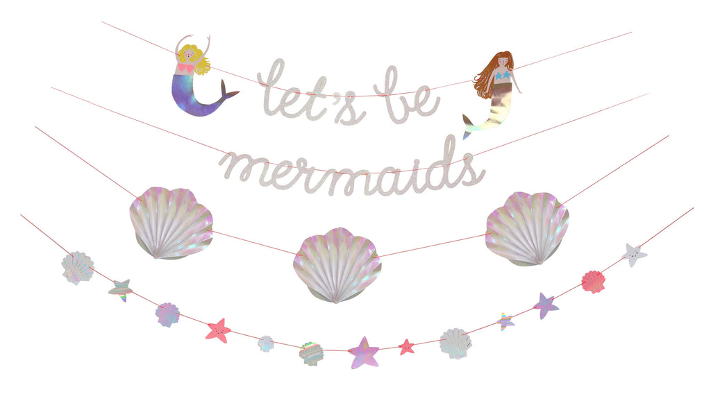 Lets be Mermaids Garland