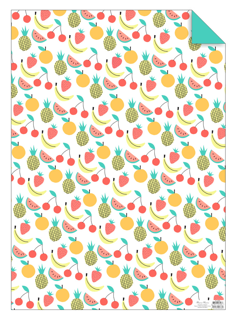 Fruit Gift Wrap Sheet