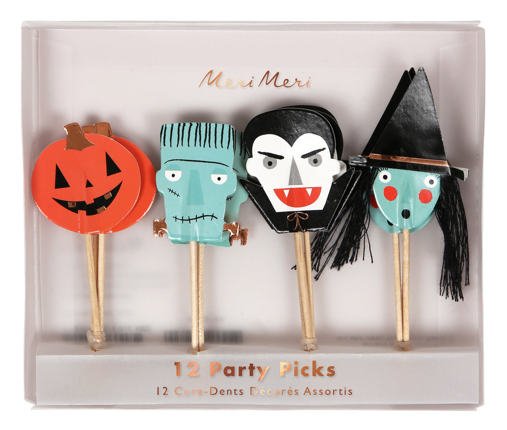 Rose gold Halloween Party Picks