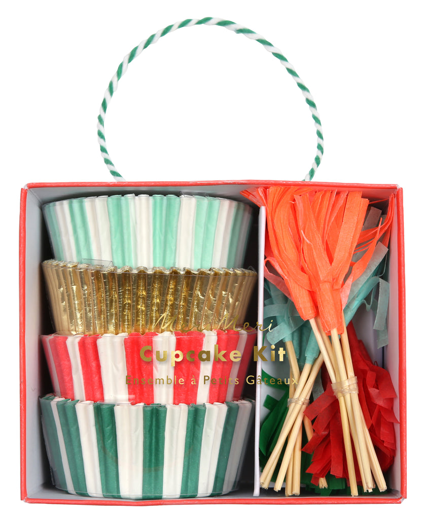 Red & Green Cupcake kit