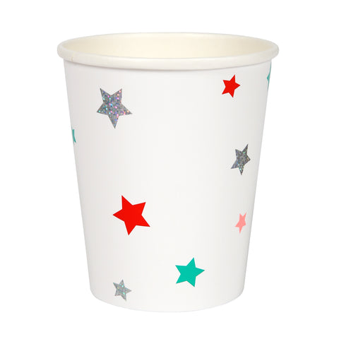 Christmas Stars Party Cups