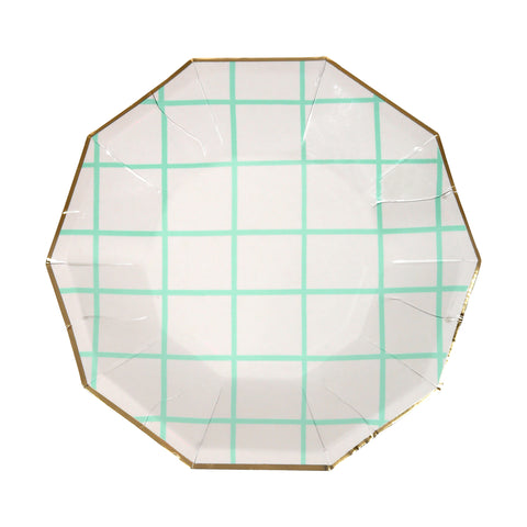 Mint grid Small Plates