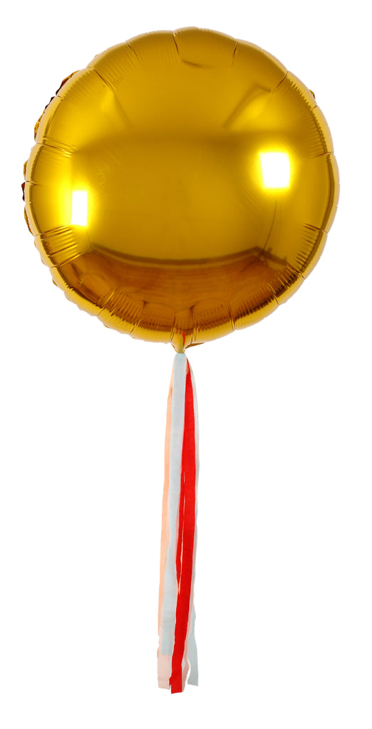 Gold Giant Balloon kit (6 pack)