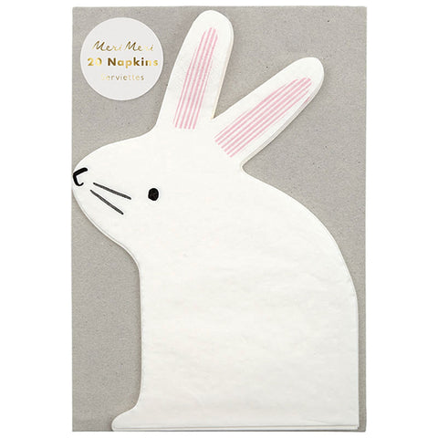 Small Bunny Napkins