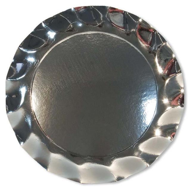 Brilliant Silver Charger Plates