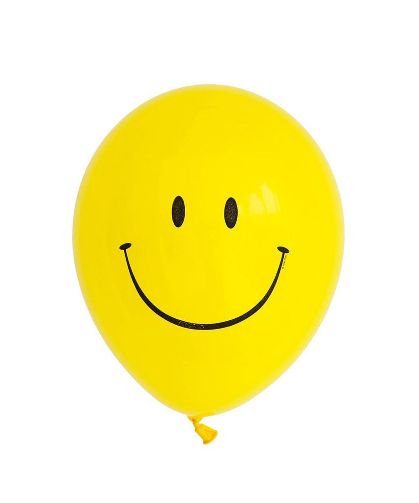 "Smile Face Latex balloons 11"" (10 pack)"