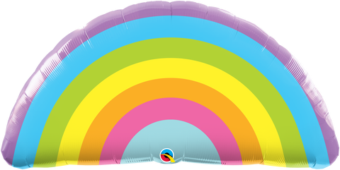 Radiant Rainbow Balloon