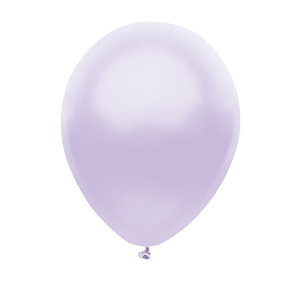 "Pearl Lavender Latex balloons 11"" (10 pack)"