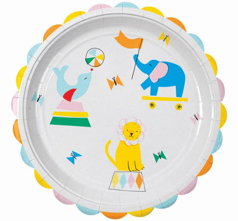 Silly Circus Large Plates