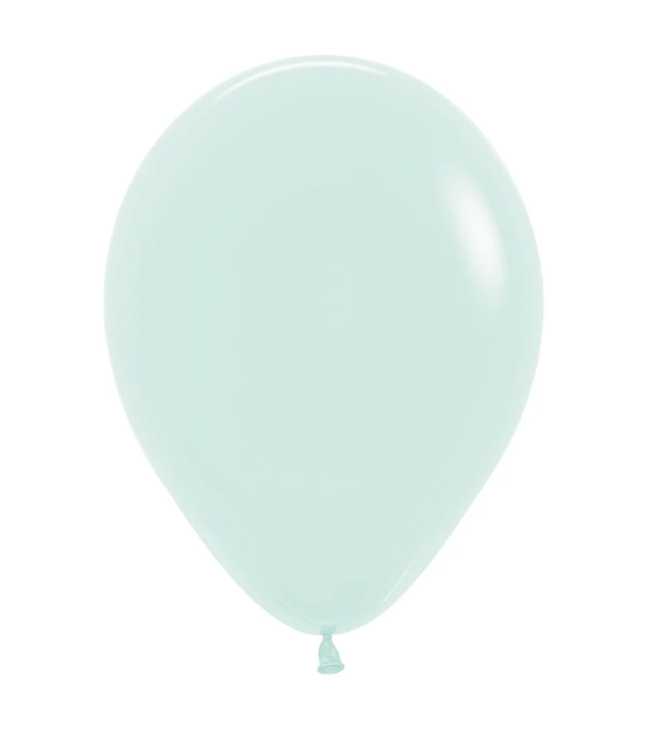 "Pastel Mint Latex balloons 11"" (10 pack)"