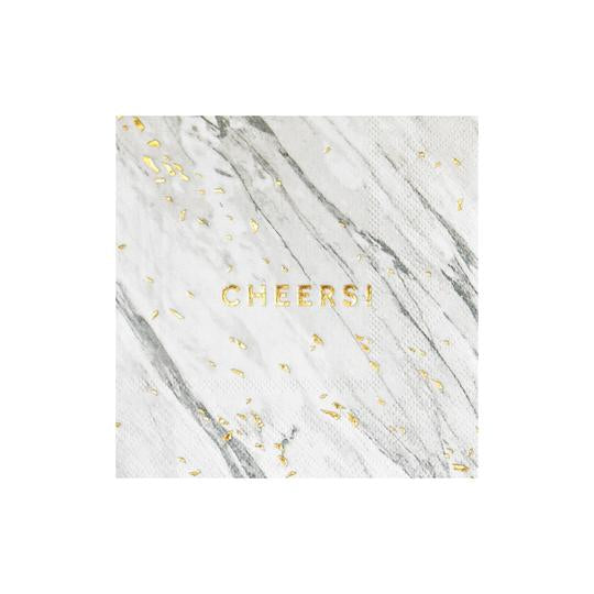 Marble Cheers Napkins