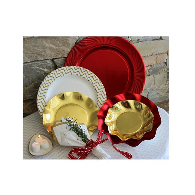 Brilliant Gold Salad/Dessert Plates