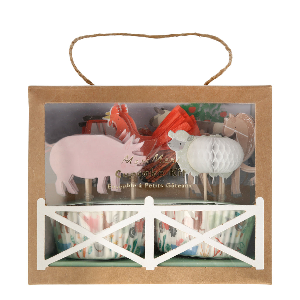 On the Farm Cupcake Kit