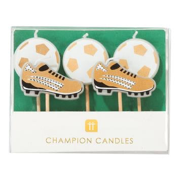 Champions Soccer Candles