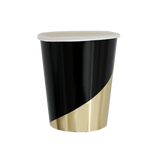 Noir Party Cups
