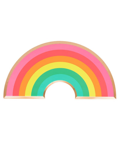 Oh Happy Day Rainbow Plates