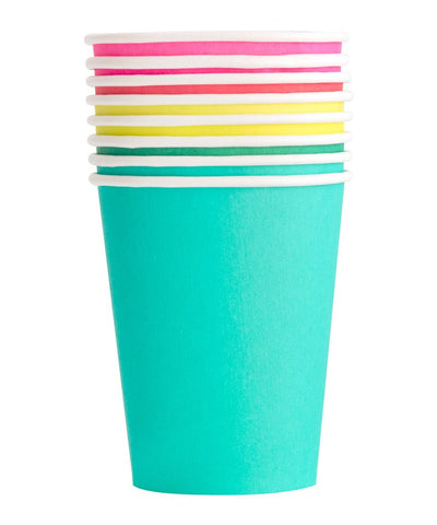 Oh Happy Rainbow Set Party Cups