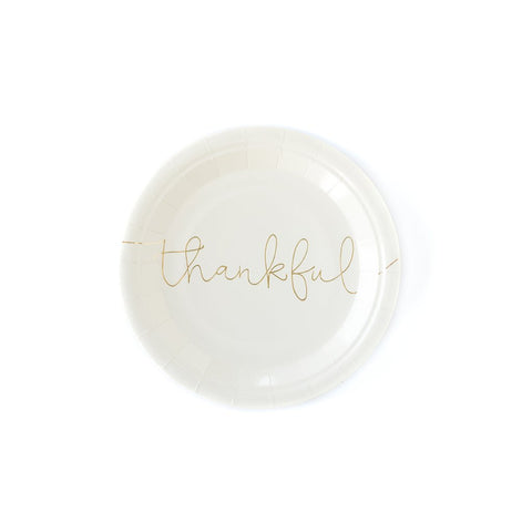 Thankful / Grateful Small Plates (16-pack)