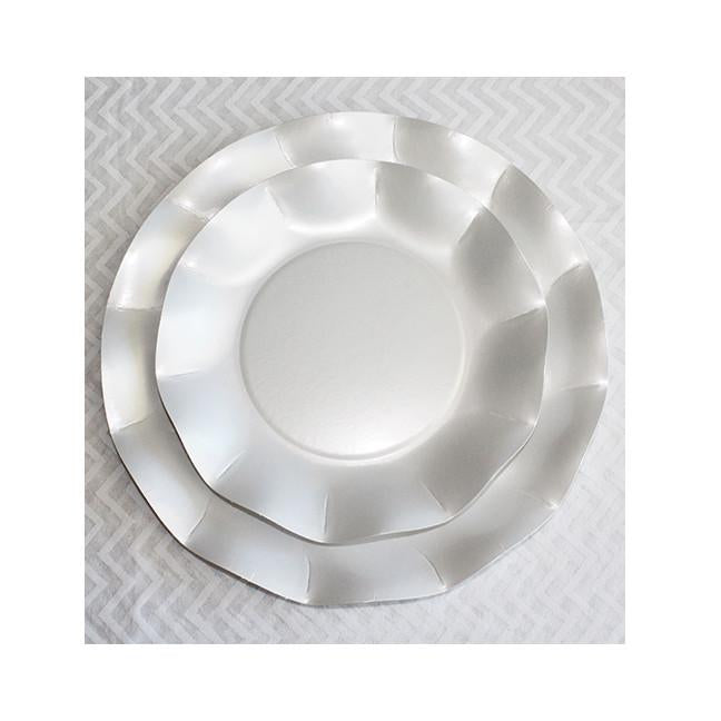 Pearly White Salad/Dessert Plates