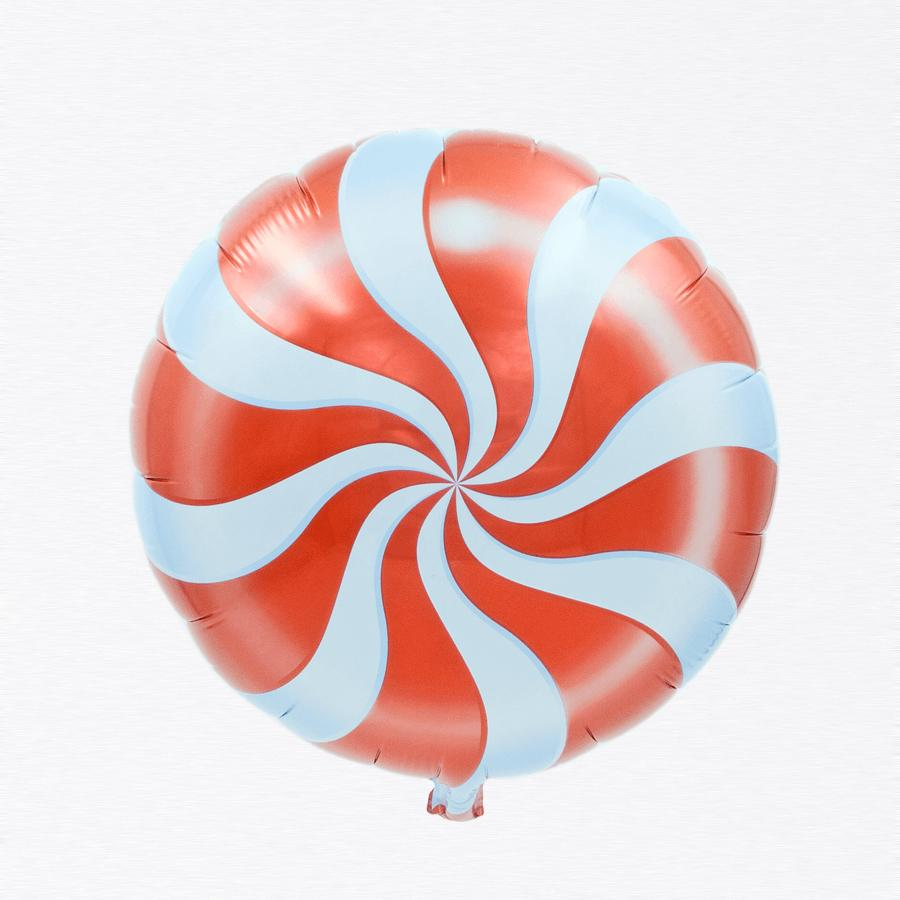 Peppermint Red Candy balloon 18""