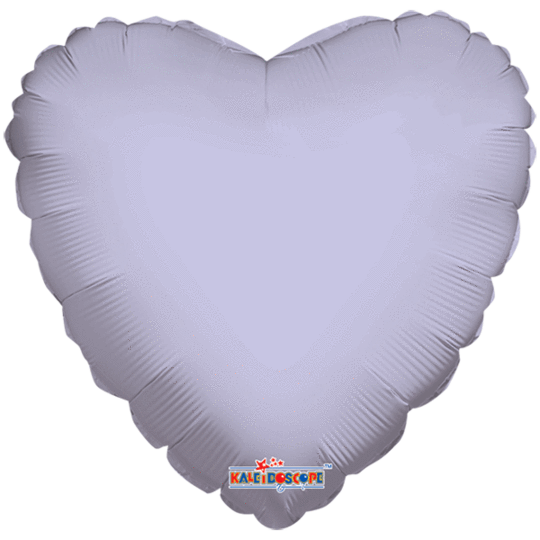 Lilac Heart Balloon 18""