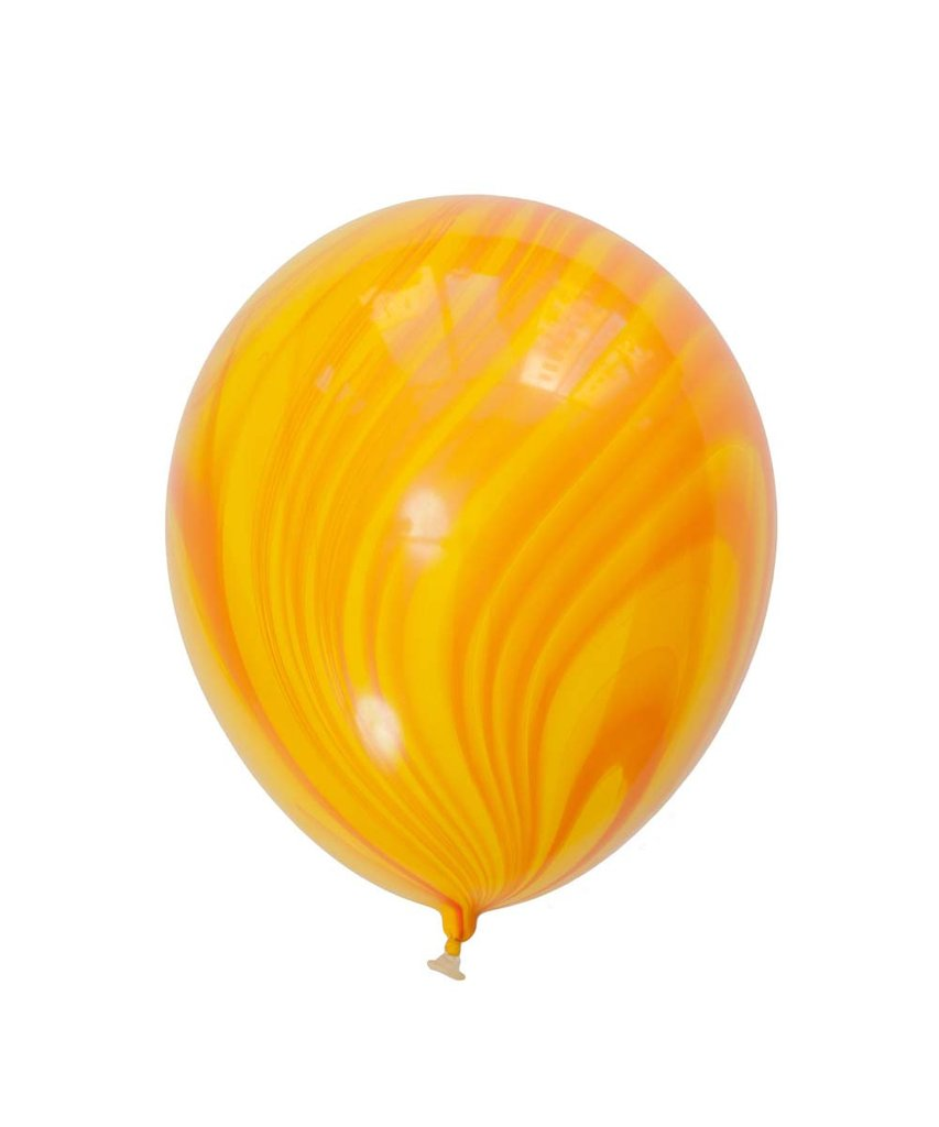 "Yellow Marble Latex balloons 11"" (10 pack)"