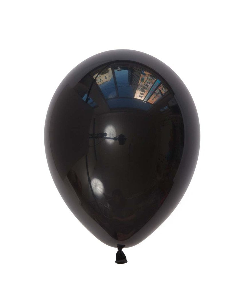 "Black Latex balloons 11"" (10 pack)"