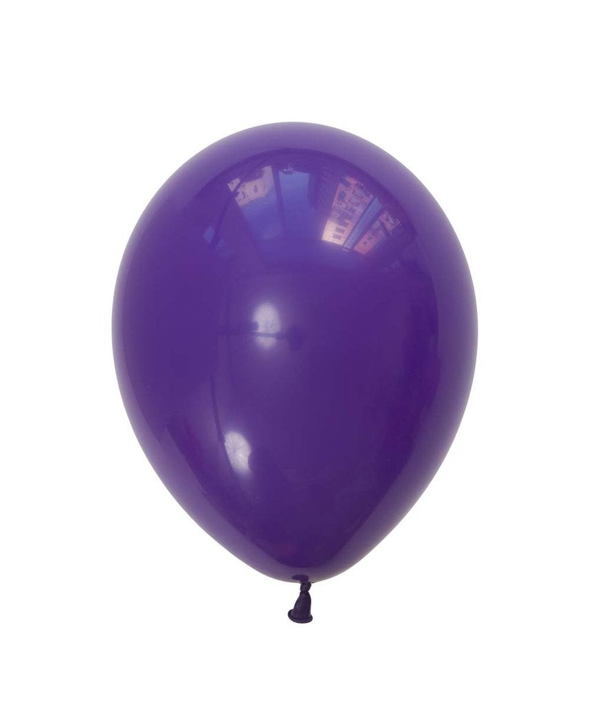 "Purple Violet Latex balloons 11"" (10 pack)"