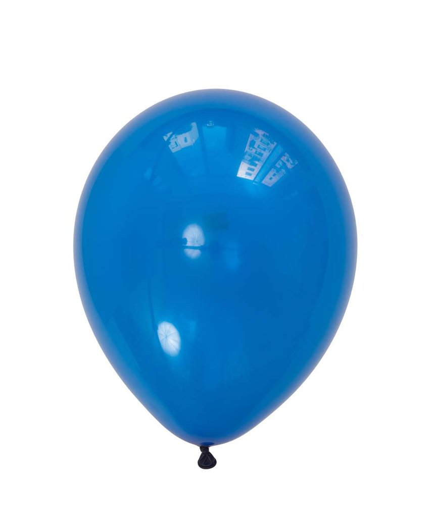 "Sapphire Blue Latex balloons 11"" (10 pack)"
