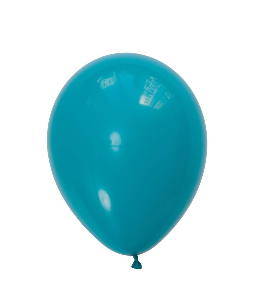 "Tropical Teal Latex balloons 11"" (10 pack)"