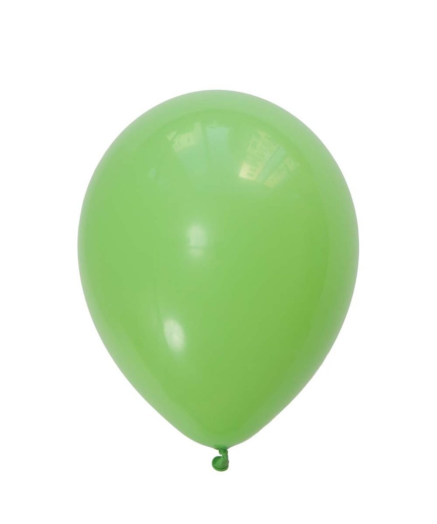 "Lime Green Latex balloons 11"" (10 pack)"