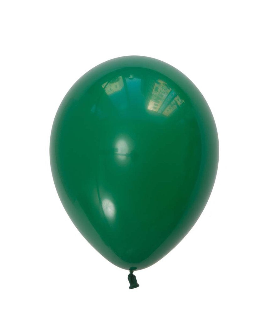 "Green Latex balloons 11"" (10 pack)"