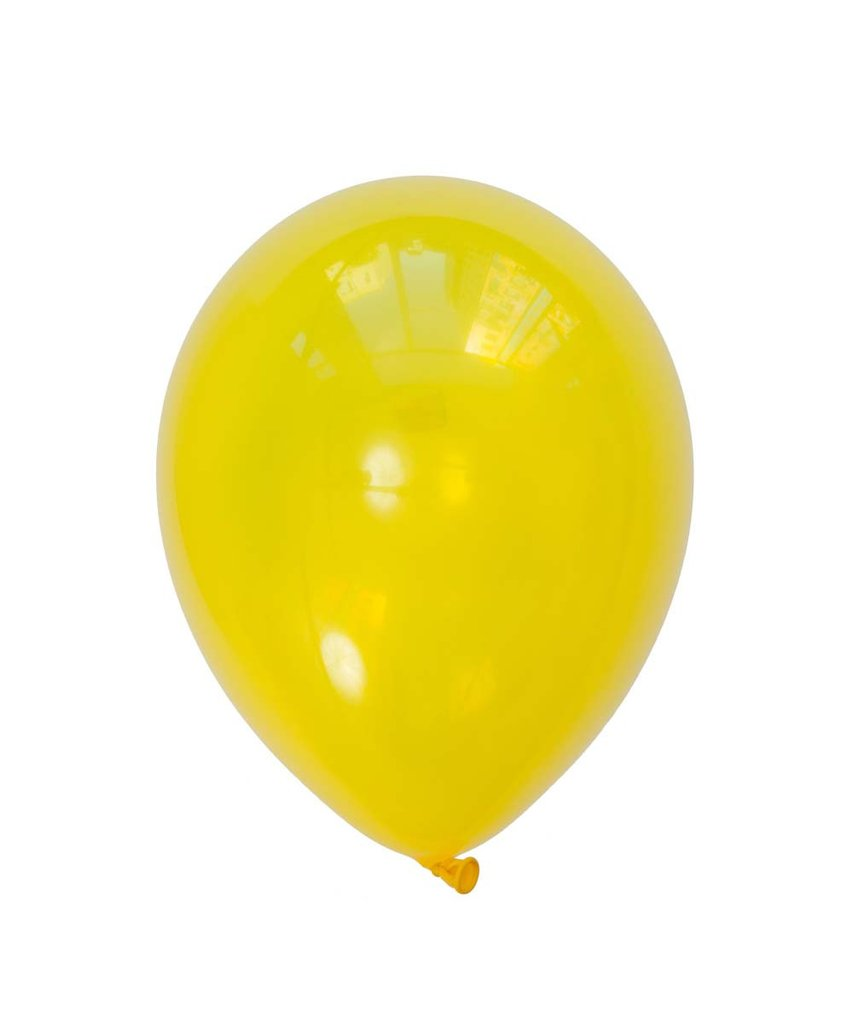 "Citrine Yellow Latex balloons 11"" (10 pack)"