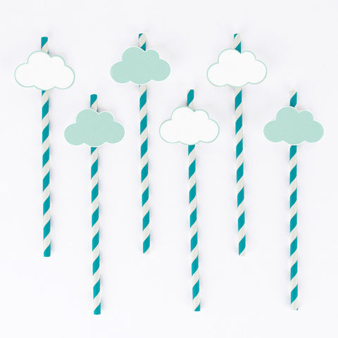 Clouds Straws