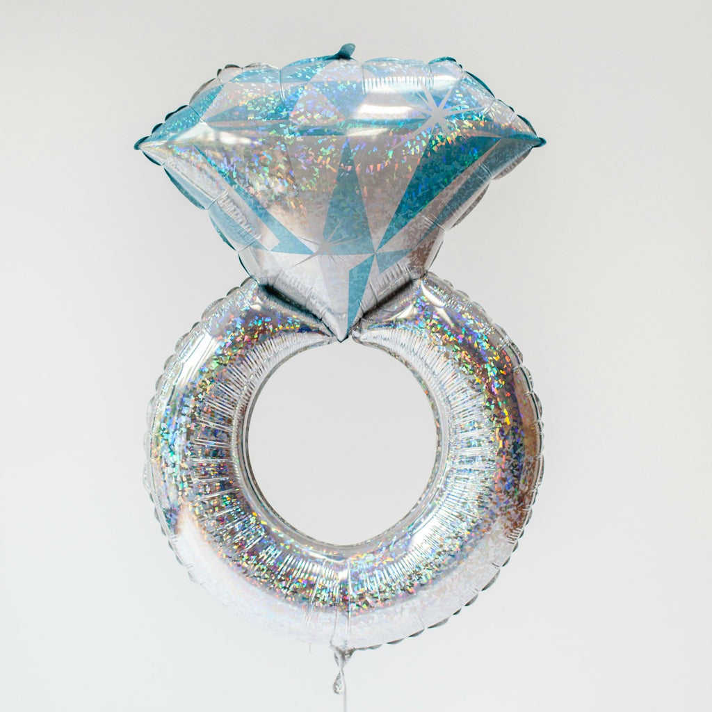 Silver Ring Balloon