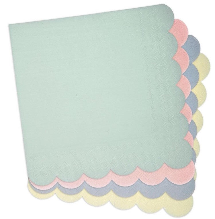 Pastels Small Napkins