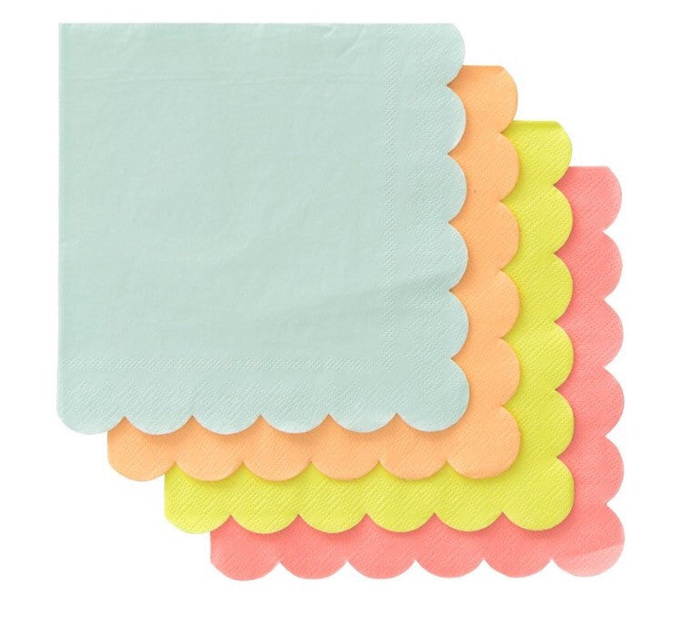 Neon Large Napkins