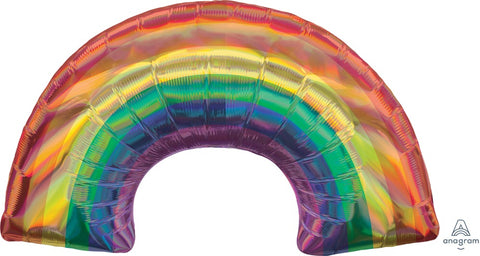 Iridescent Rainbow Balloon