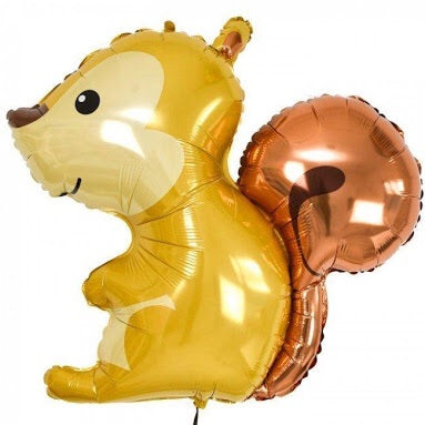 Woodland Squirrel Balloon 36""
