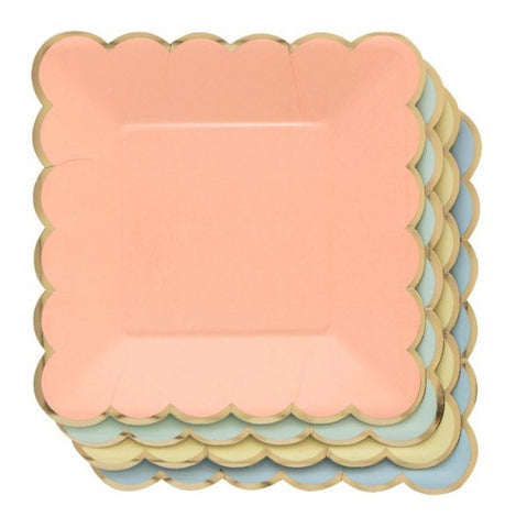 Pastels Small Plates