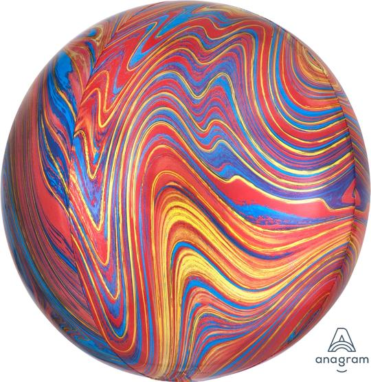 Colorful Marblez 17""