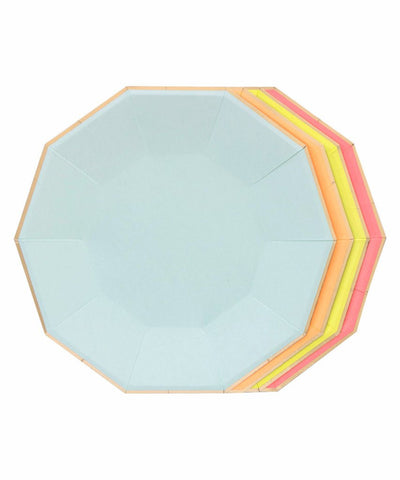 Neon Large Plates