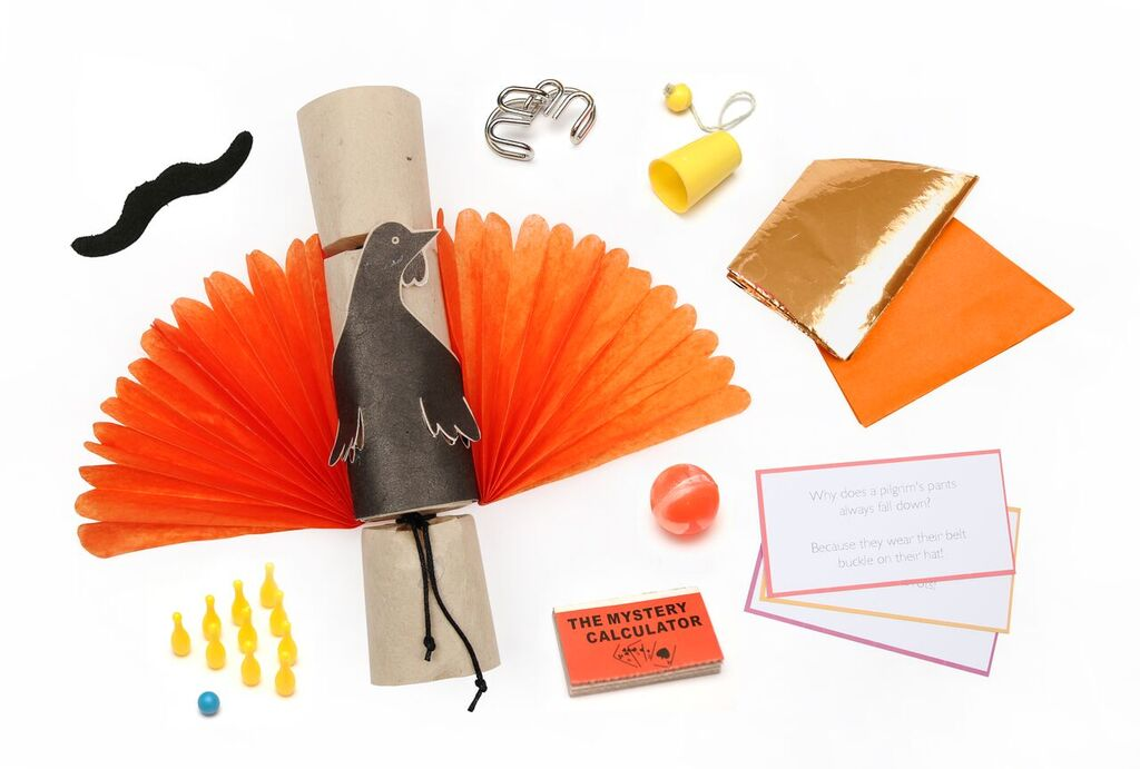 Thanksgiving Turkey Fan Crackers