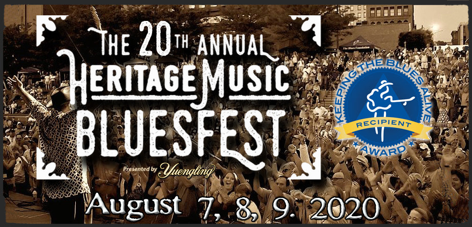 The 20th Annual Heritage Music BluesFest Announces MainStage Schedule