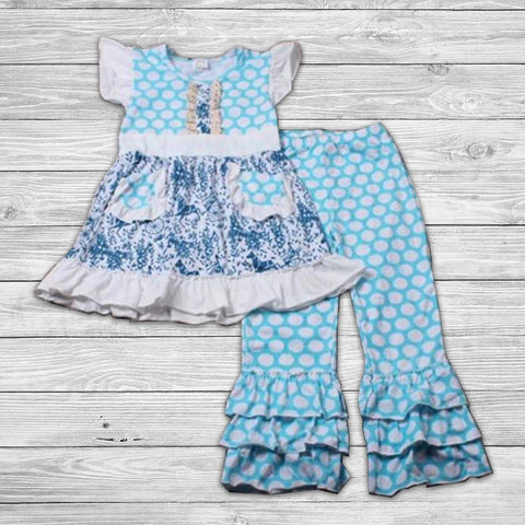 Marley Pant Set with Bow