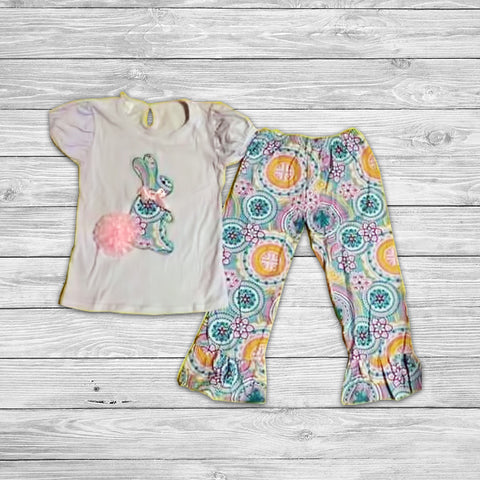 Betsy Cottontail Pant Set with Bow