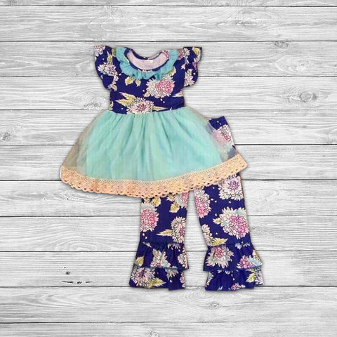 Aurora Pant Set with Bow